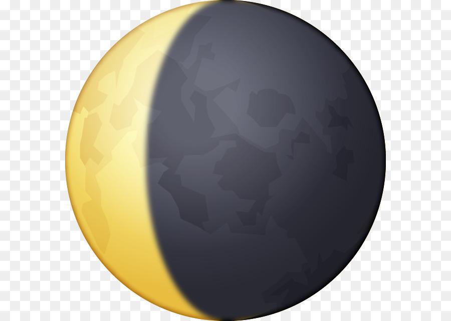 Emoji Lua Em Quarto Crescente Moon Iphone Crescent Moon Symbol Png
