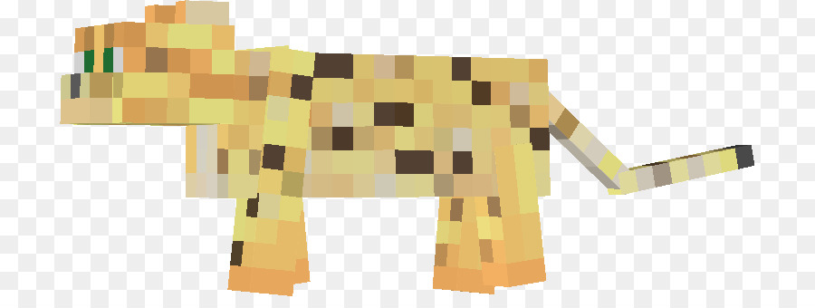 Minecraft Pocket Edition Ocelot Cat Ozelotfell Revolver Ocelot