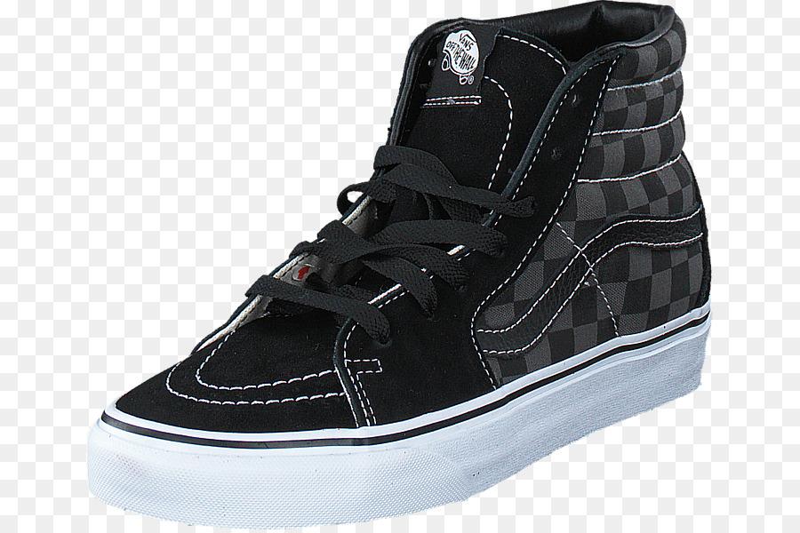 Sports shoes Men Vans Sk8-Hi Skate shoe - checkered vans png download - 705 596  - Free Transparent Sports Shoes png Download. 50b351b55