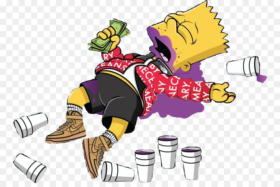 Bart Simpson Homer Simpson Supreme Image Drawing Supreme Drawing