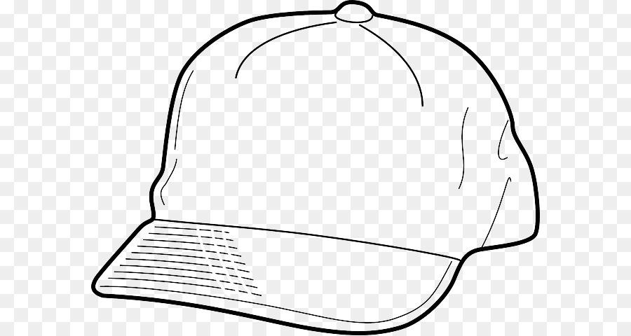 Sombrero de la gorra de Béisbol de libro para Colorear de Dibujo ...