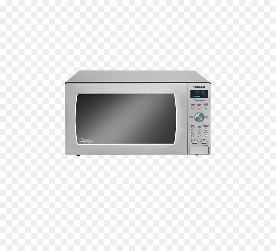 Microwave Ovens Stainless Steel Panasonic Countertop Turbo Cooker Png 519 804 Free Transpa