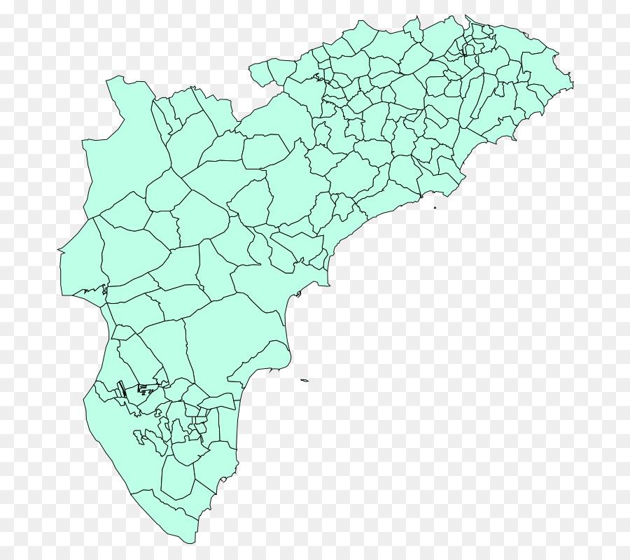 Map Of Spain Alicante Area.Map Municipality Commune Costa Blanca Cartographer Alicante Spain