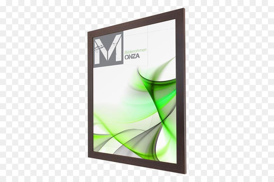 Bilderrahmen Glas Kader Foto Mdf Schwarz Weiss Metallic Moderne