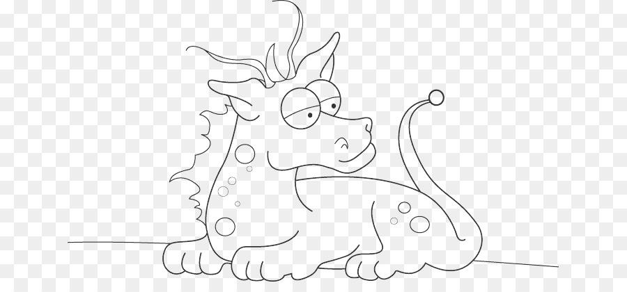 Libro para colorear de Niño Dragón Dibujo de Hadas - lindo harry ...