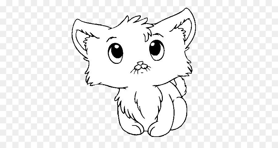 Gatito Cachorro de Gato Páginas para Colorear para Colorear libro ...