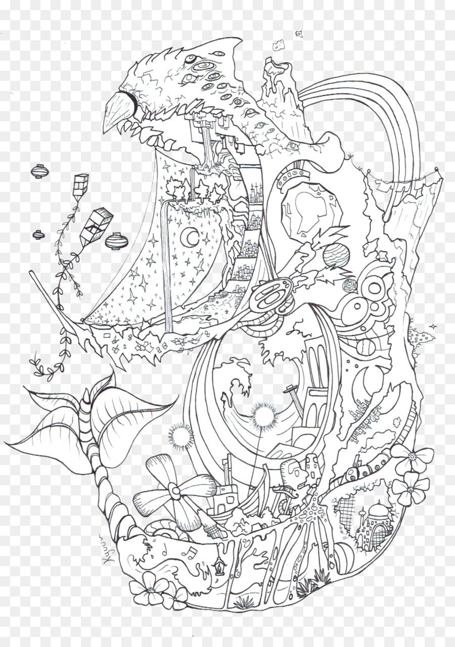 Wizard Howl Howls Moving Castle Line Art Sophie Hatter Coloring - Totoro-coloring-pages