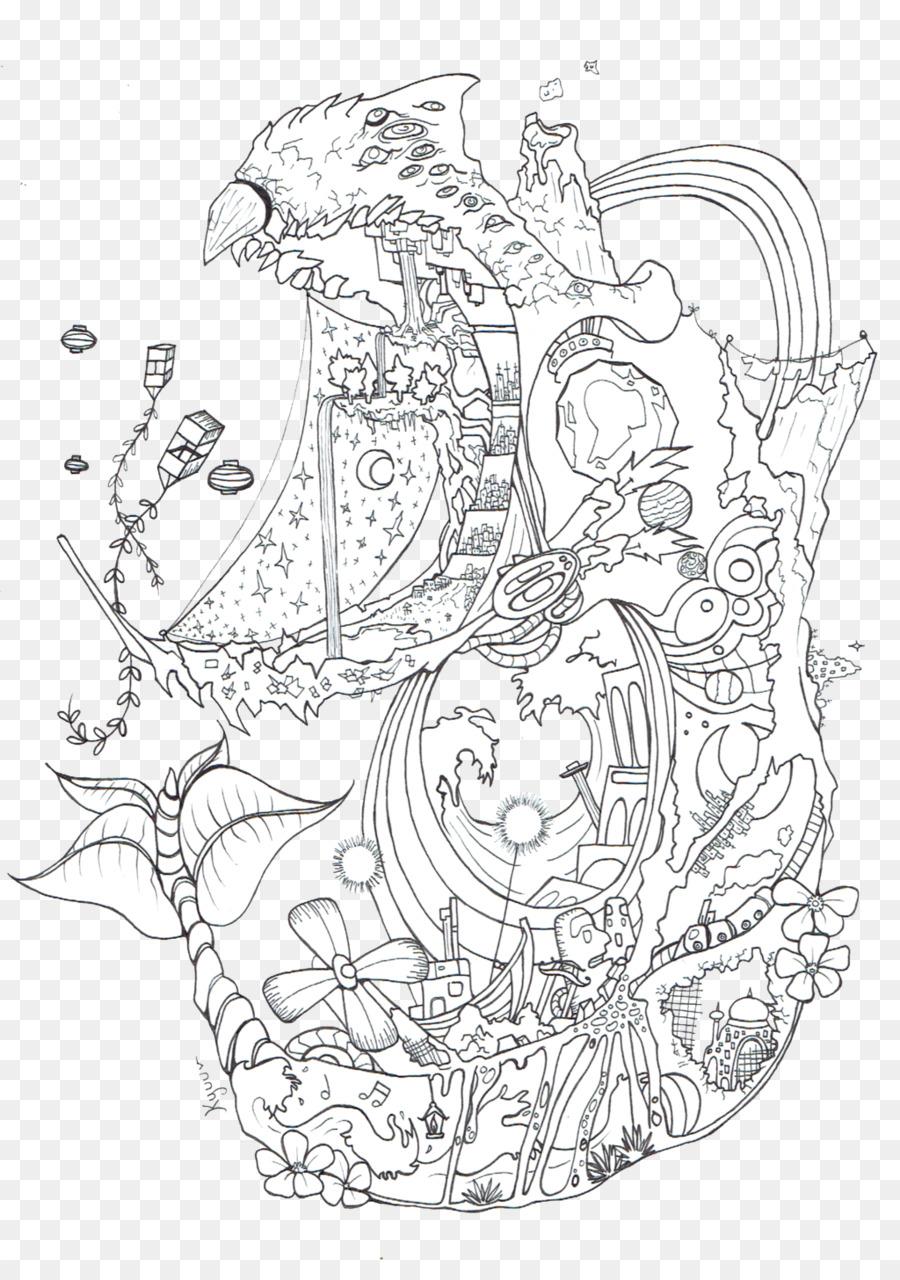 Wizard Howl Howl\'s Moving Castle Line art Sophie Hatter Coloring ...