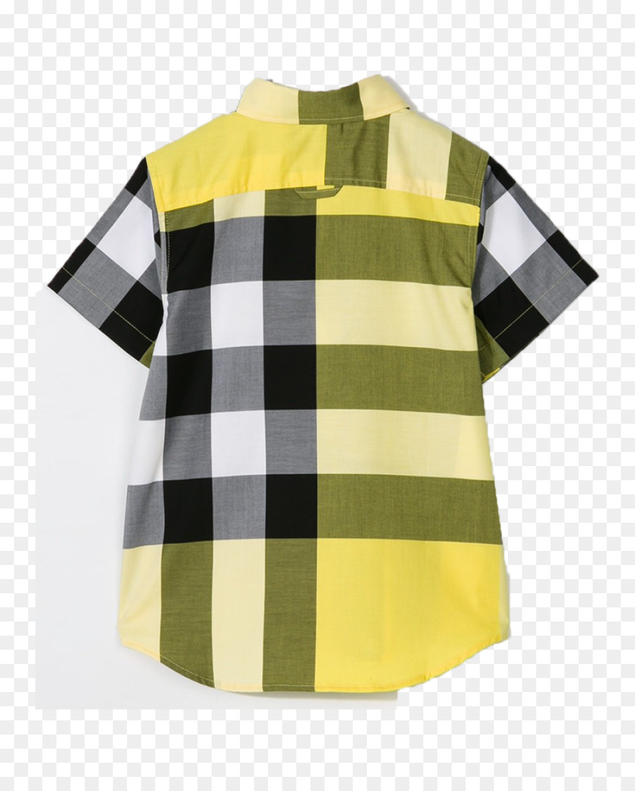 001131e9 T-shirt Boys Burberry Check Collar Polo Shirt Clothing - plaid vest ...
