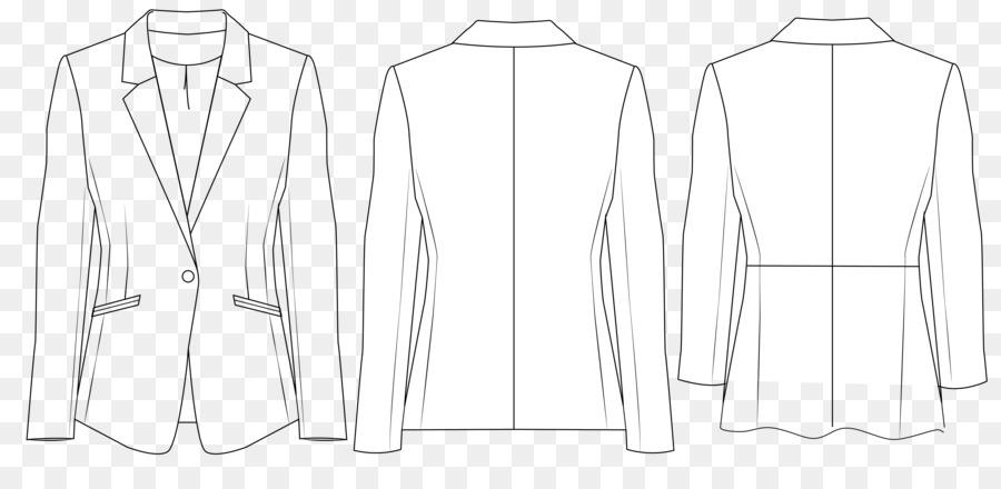 Chaqueta De Ropa De Cuello Vestido De Manga - la capa de coser ...