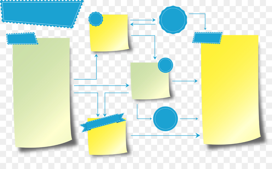 graphic design prezi post it note presentation business