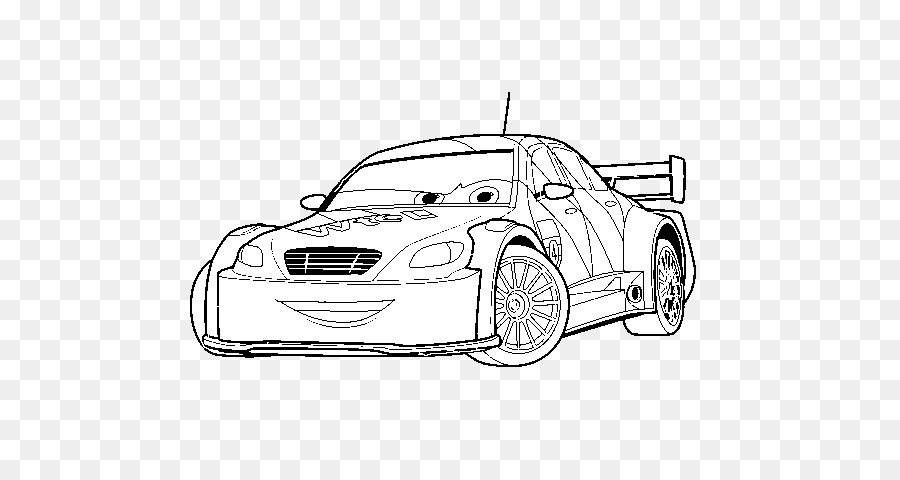Lightning McQueen Sally Carrera Mater Fillmore - jeep coloring pages ...