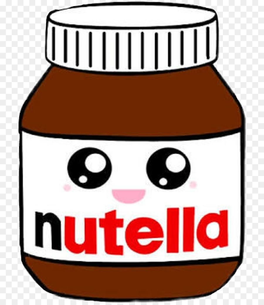 Drawing Clip art Nutella Image Kawaii - tumblr food stickers png ...
