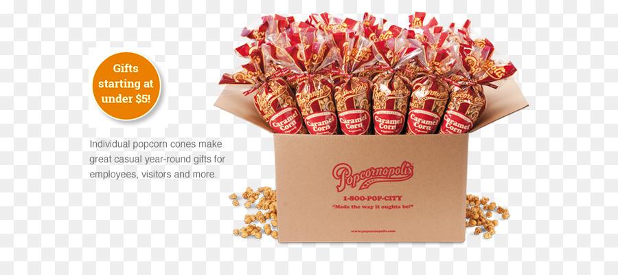 caramel corn christmas gift popcorn confectionery individual popcorn cones