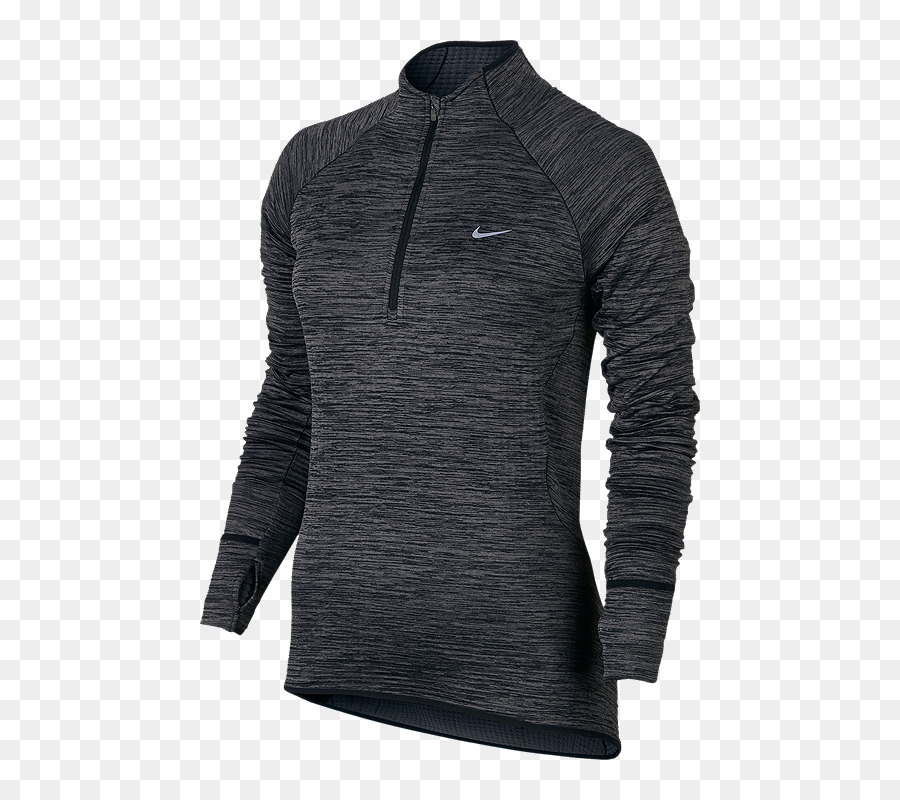 brand new dc269 25469 T shirt Hoodie Nike Running Therma Kugel Element Half Zip ...