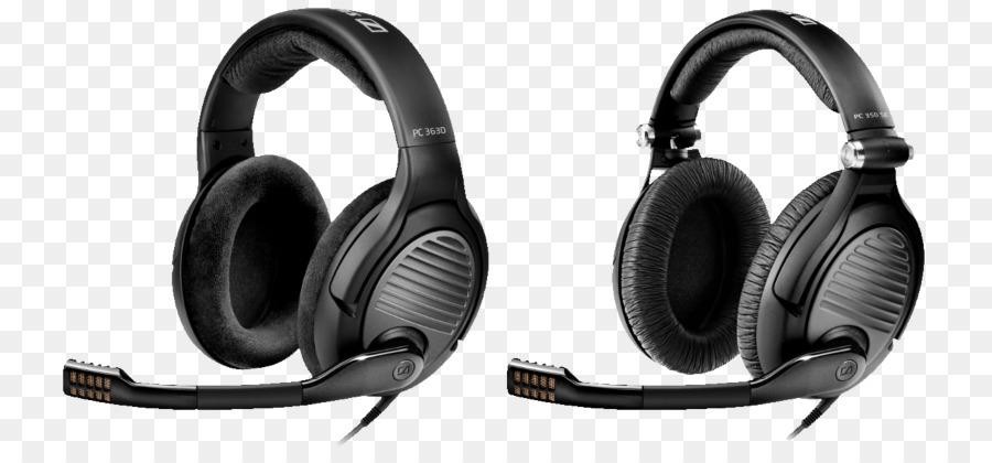 Sennheiser Pc 350 Se Headphones png download - 800*415