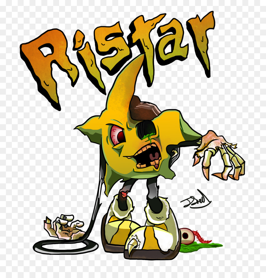 Ristar Sega Genesis Deviantart Fan Art Good Morning I Love You