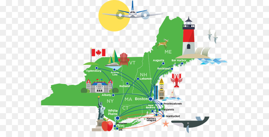Cape Air Nantucket Airlines City Map Road Map New York City