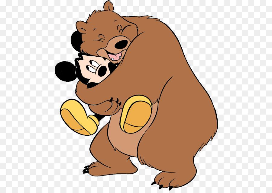 Küçük Resim Big Bear Hug Resim Klasik Ayıcık Boyama Sayfaları Png