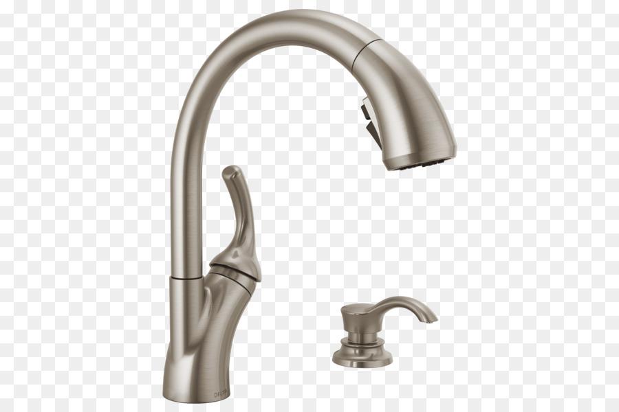 Faucet Handles & Controls Delta Shiloh Single-Handle Pull-Out ...
