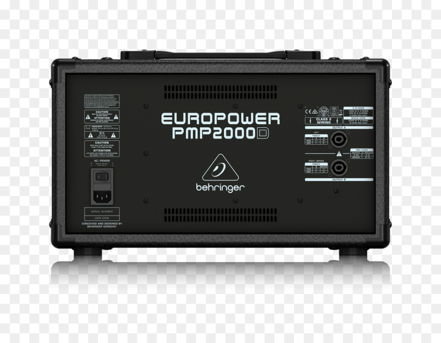 Microphone Behringer Europower Pmp2000d Audio Mixer Behringer