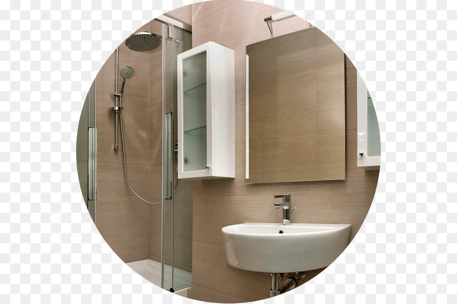 Bagno con doccia davanti finestra interno di casa smepool