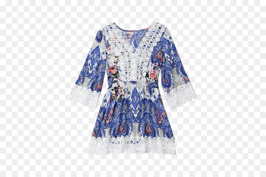 Paisley Crochet Pattern Scarf Dress Crochet Casual Flat Shoes For