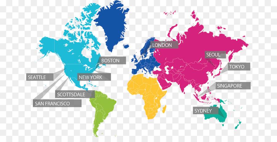 Welt Politische Karte Welt Karte Vektor Grafiken Boston Calling