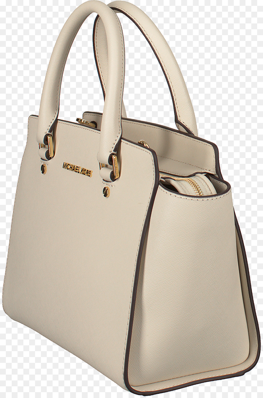 7bacaf5ec3dc Tote Bag, Bag, Michael Kors Selma Medium Leather Satchel, Handbag, White PNG