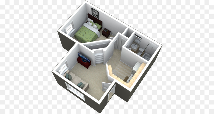 Studio Apartment House Real Estate Bedroom Small Design Ideas On A Budget Png 640 480 Free Transparent