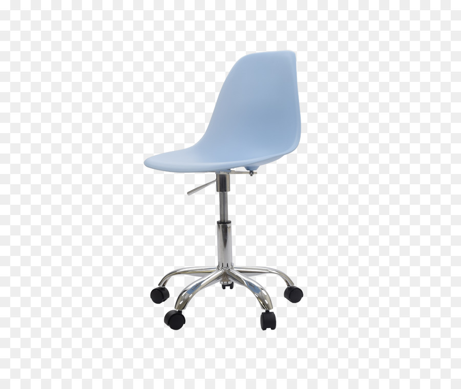 Charles Eames Bureaustoel.Office Desk Chairs Eames Lounge Chair Table Swivel Chair Blue