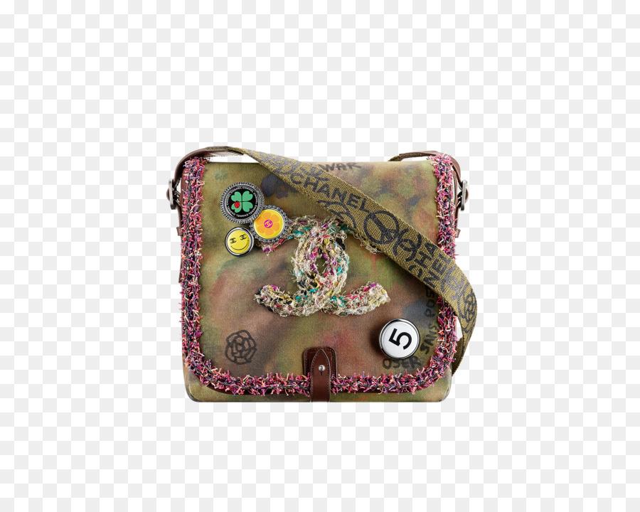 ebe3599ae1f53a Chanel Handbag Messenger Bags Bag collection - small army green ...