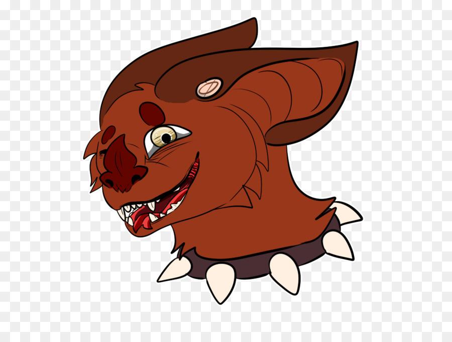 Clip art carnivori illustrazione bocca del demone commercio