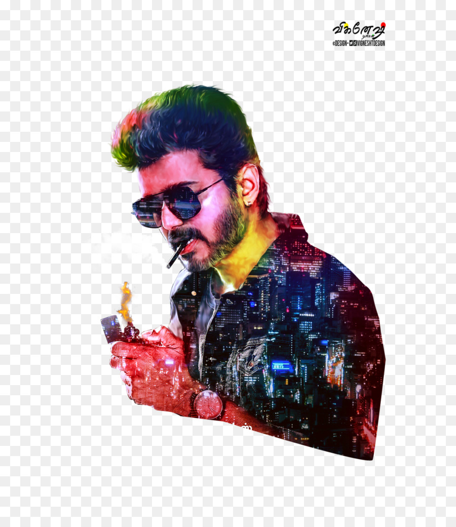 Vijay Sarkar Video Eyewear Facial Hair Png