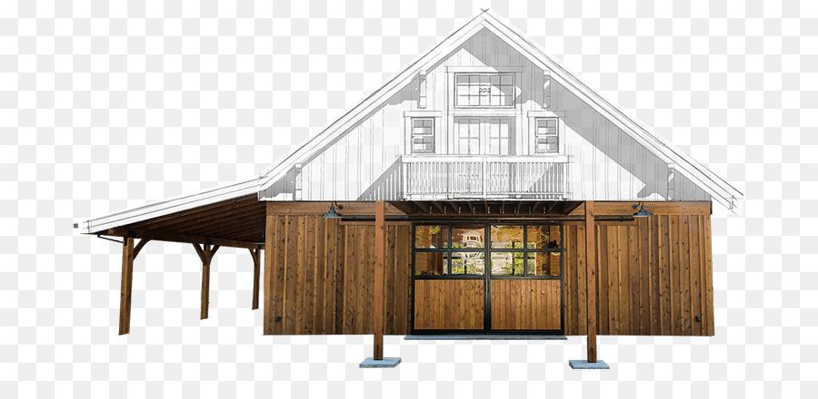 Pole building framing Apartment Barn House - garage workshop png ...