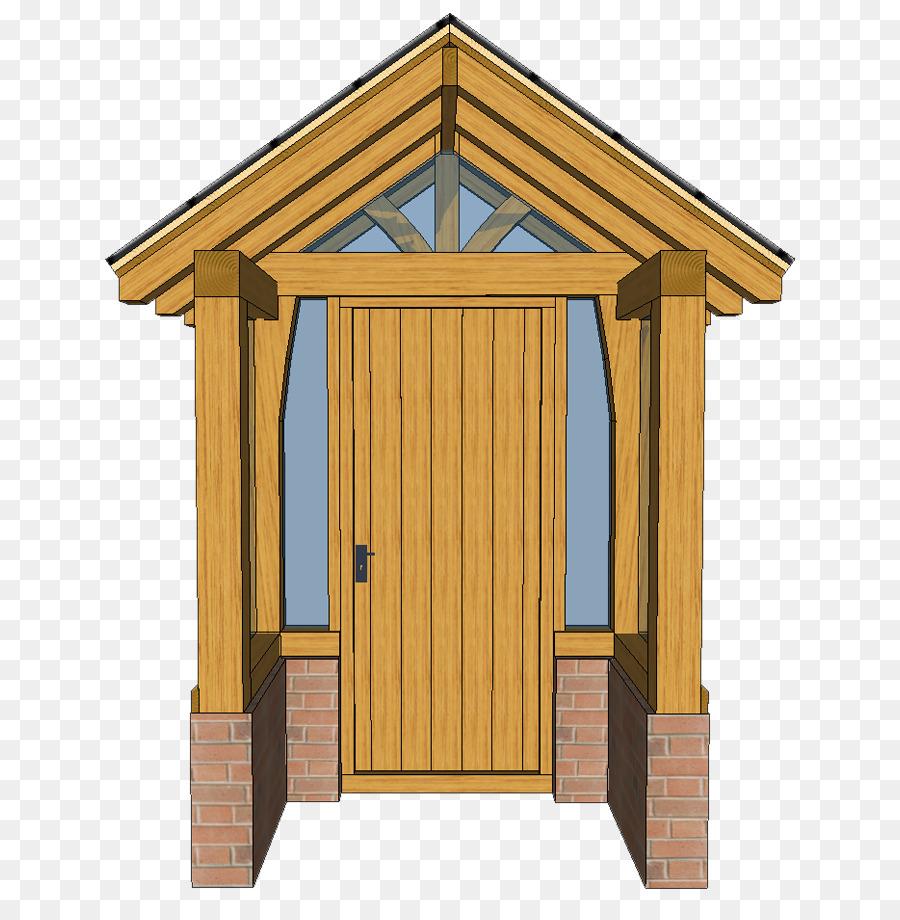 Veranda-Schuppen-Dach-Holz-beize Eiche - png herunterladen - 716*909 ...