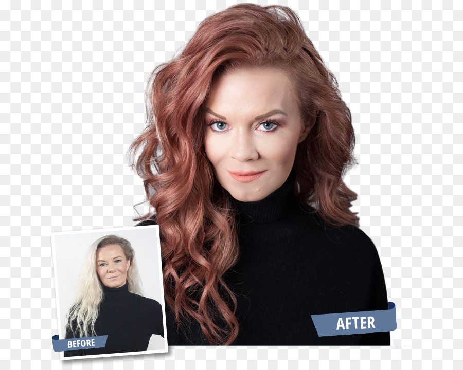 Hair coloring Blond Red hair Fanci Full Temporary Hair Hair mousse ...
