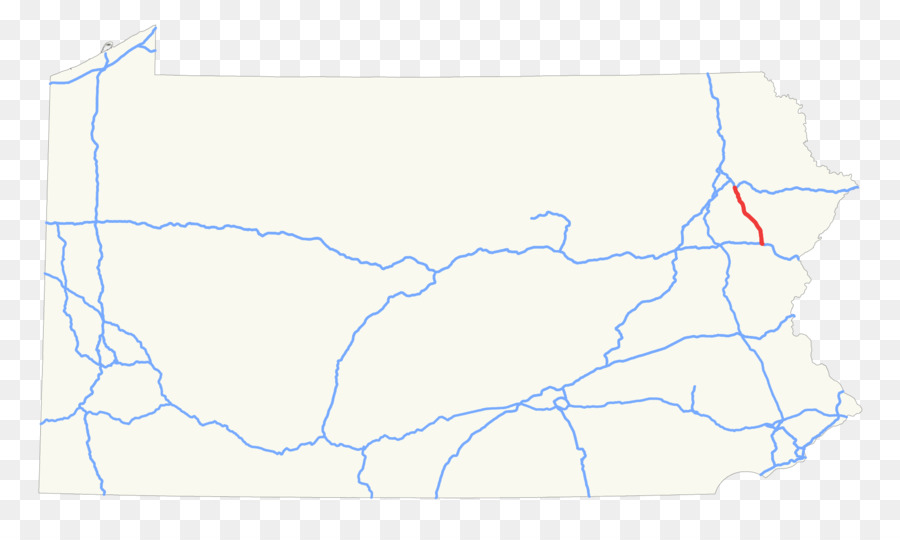 Product design Map Line Ecoregion - northeast us interstate highway ...