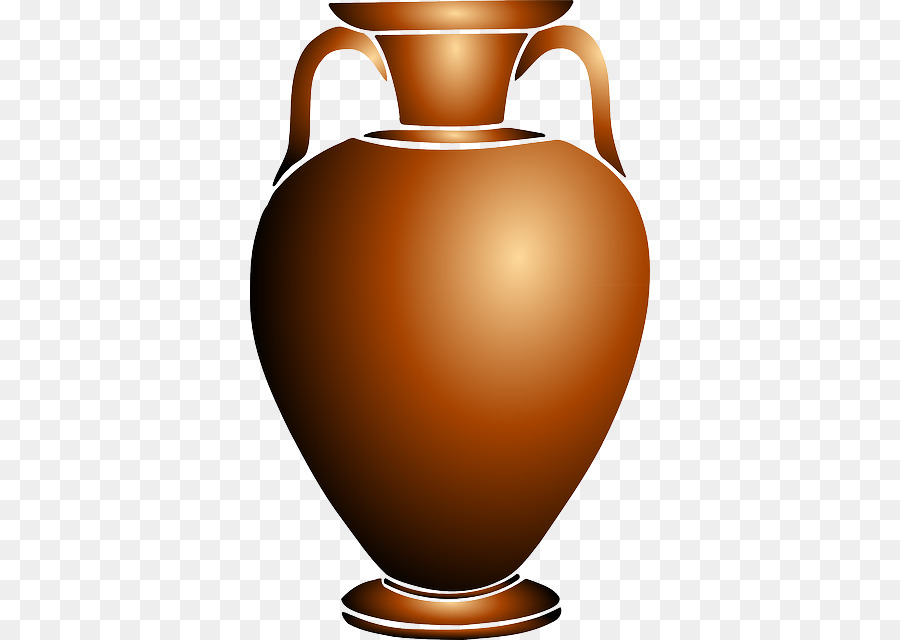 Clip Art Pottery Ceramic Amphora Openclipart Head Vases Antiques