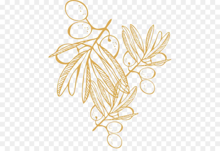 La cocina griega Ilustración Barbacoa de diseño Floral de la Hoja ...