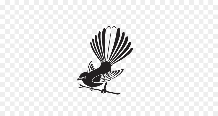 90132d67284 Bird New Zealand fantail Clip art Image Drawing - bird png download -  640 480 - Free Transparent Bird png Download.