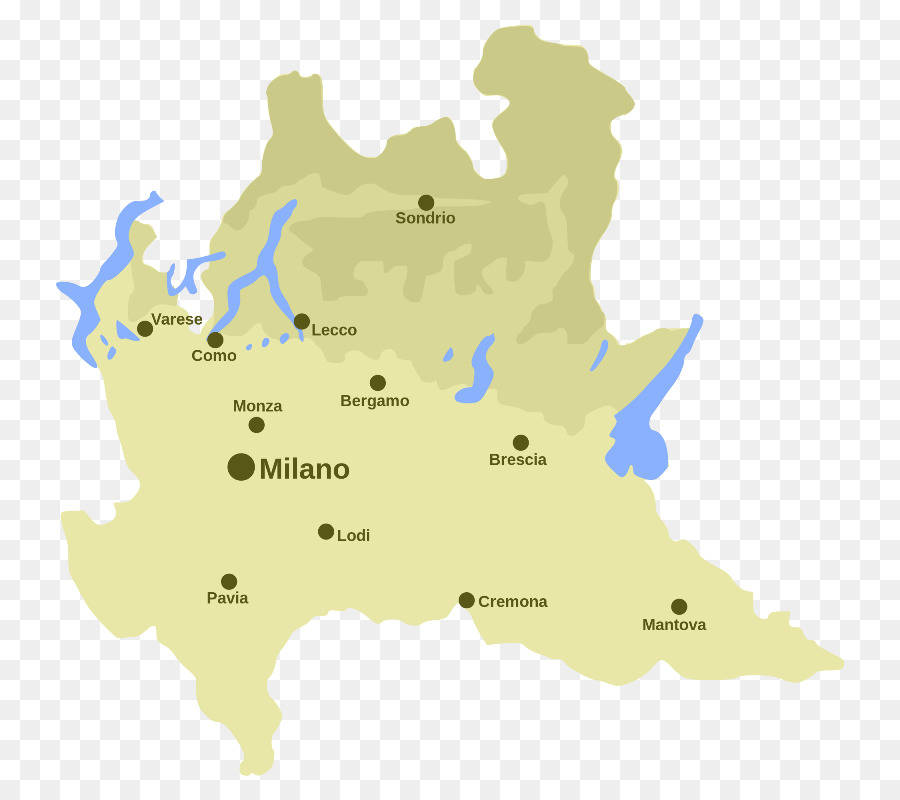 Map Lake Como Province of Sondrio Image Information - lake italy png ...