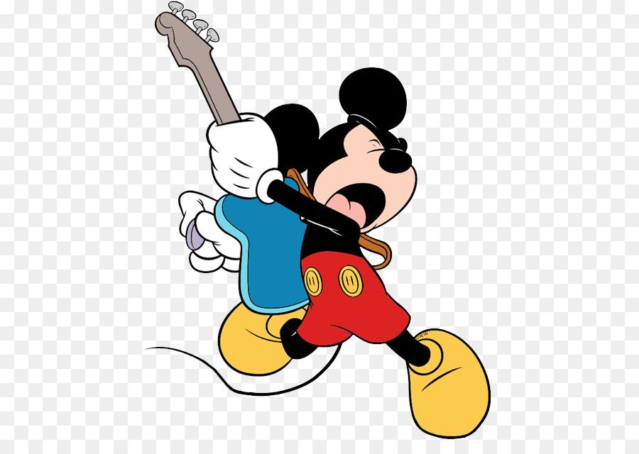 Mickey Mouse Minnie Mouse de Pato Donald Goofy para Colorear libro ...