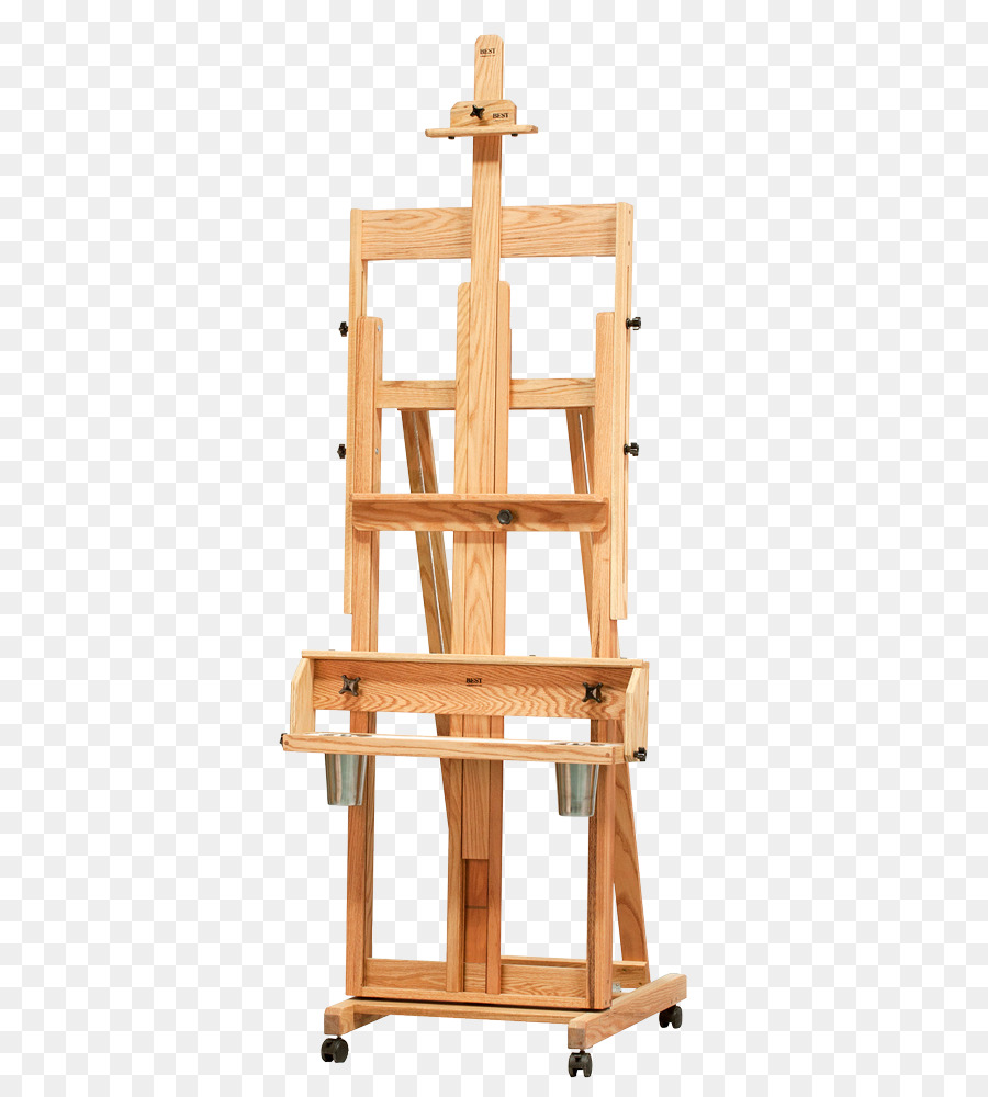 Canvas Santa Fe >> Easel Artist Canvas Santa Fe Artist Studio Easel Png Download