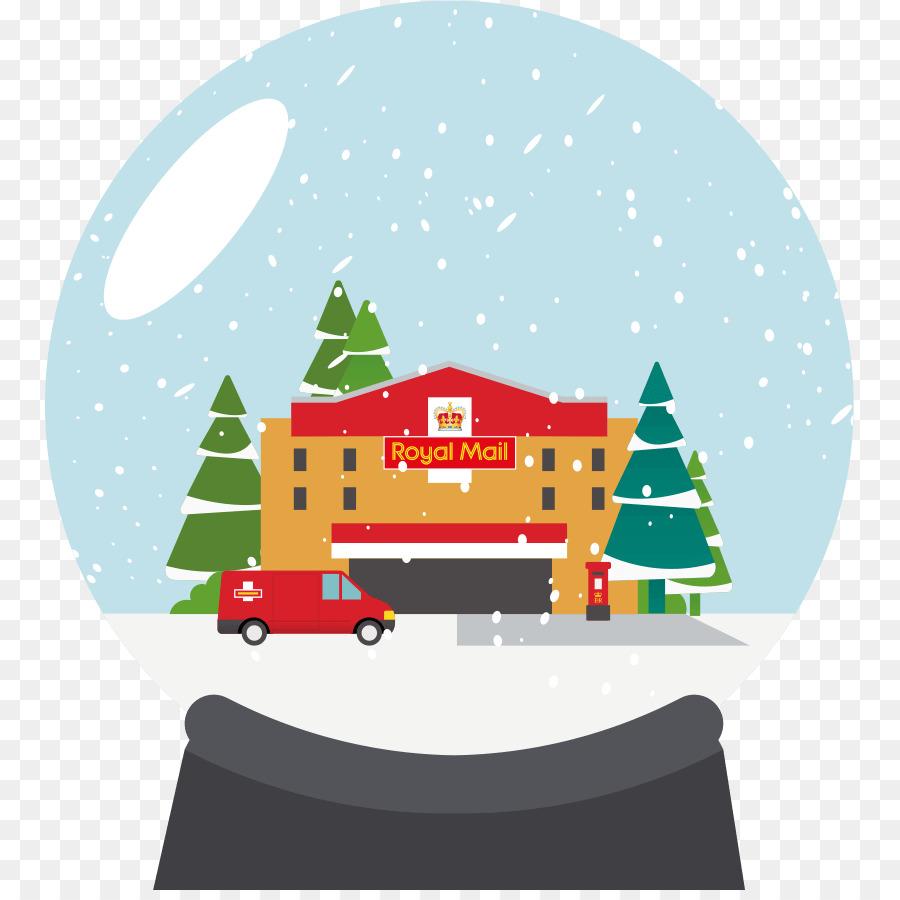 Christmas ornament Christmas Day Royal Mail Christmas tree - royal ...