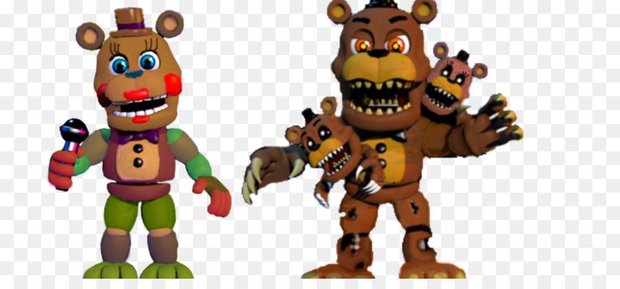 Tư thế Giới Năm Đêm tại Freddy 4 Freddy Trò của Quầy mô Phỏng Năm