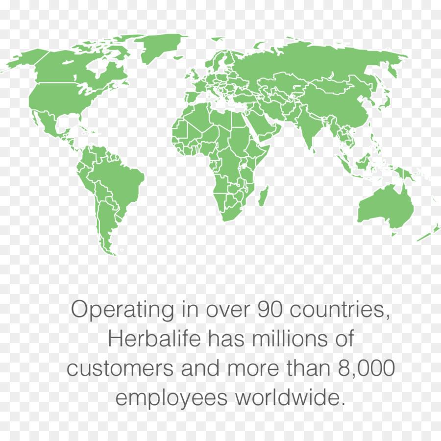 World map Vector graphics Weltkarte Royalty free - herbalife ...