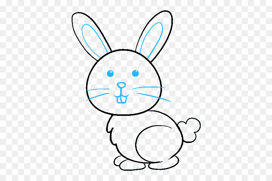Hare Bugs Bunny Rabbit Drawing Easter Bunny Rabbit Png Download