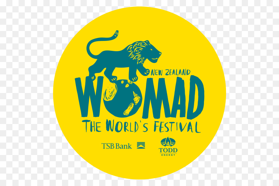 world of music arts and dance womad 2019 logo yellow text png