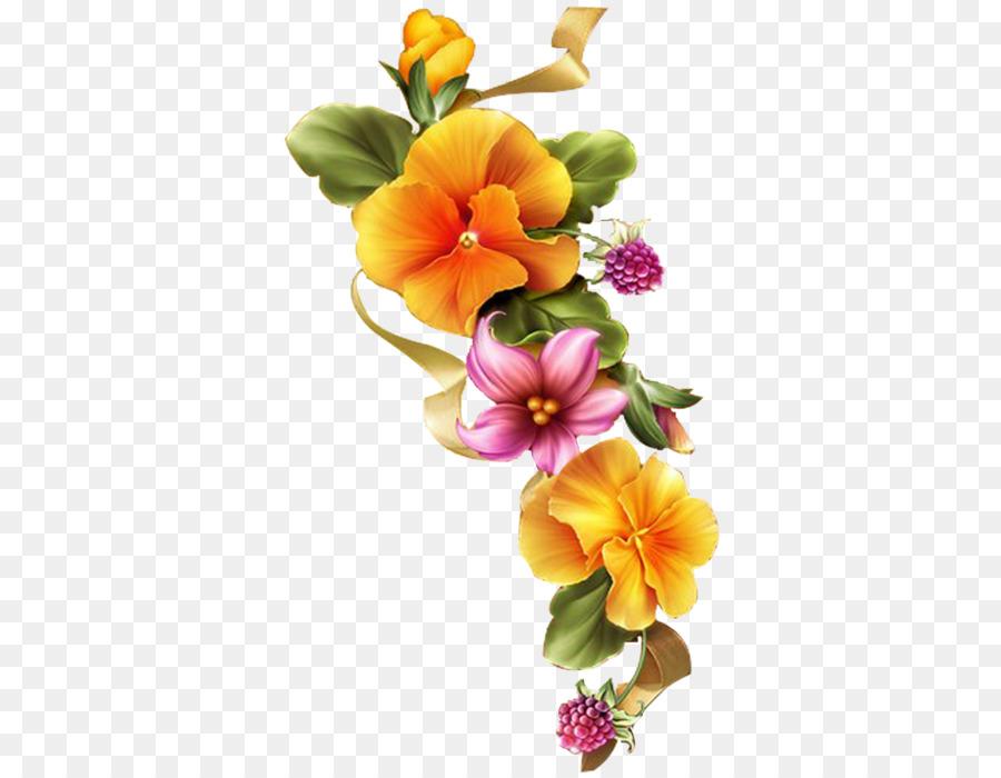 Cut Flowers Floral Design Floral Embroidery Designs Clip Art